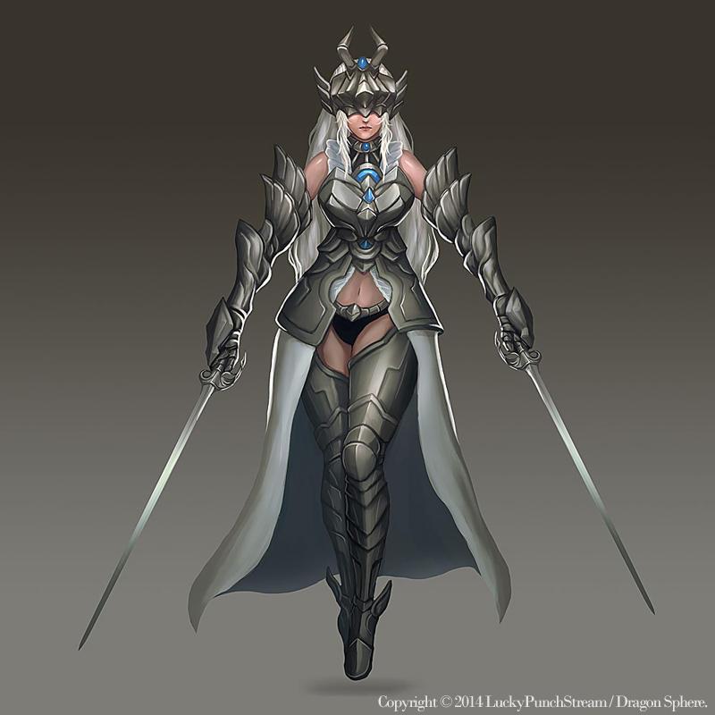 Lady Guardian by Nekomancerz