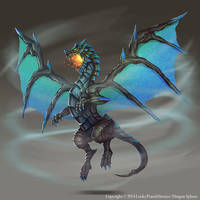 Tornado Dragon by Nekomancerz