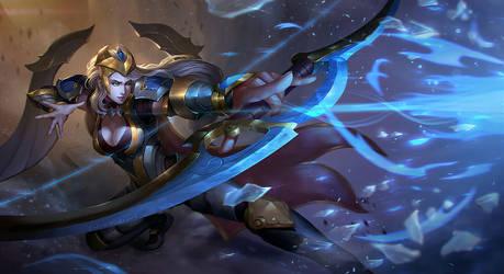 Ashe -League of Legends- by Nekomancerz