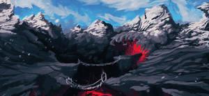 Icelava Badlands by SteedAngus