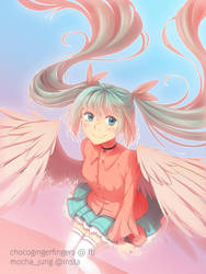 Miku's 10th by chocogingerfingers