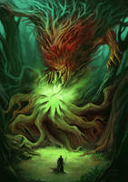 Tree Witch 2.0 by JaviRGRAPHICS