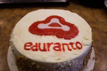 Eduranto.com cake by Esseti
