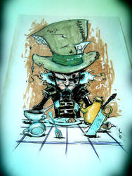 Mad Hatter commission drawing GCT Germany by NoahWhyler
