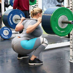 Heavy squats by pansardum