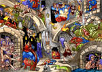 Dungeon Scene by Adoradora