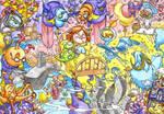 Dreamland Scene by Adoradora