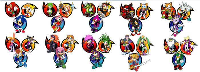 Top 10 Sonic teams by TobyandMavisforever