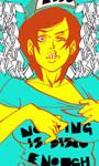 NOTHING IS DISCO ENOUGH by roaldiswack