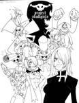 skullgirls - all by roaldiswack