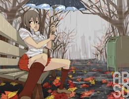 rainy by roaldiswack