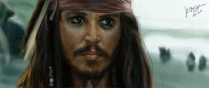 Portrait - Jack Sparrow by KimiSz
