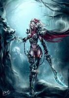 Death Knight Elysis by KimiSz