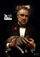 Portrait - The Godfather by KimiSz