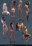 Girls Studies 02 by KimiSz