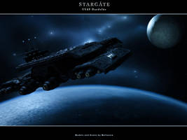 Arrival - Stargate Daedalus by Mallacore