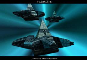 Goa'uld Fleet by Mallacore