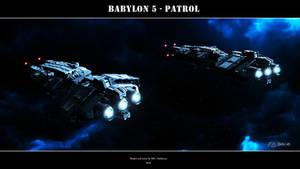 Babylon 5 - Patrol by Mallacore