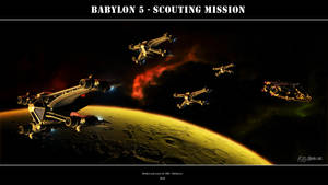 Babylon 5  -Scouting Mission by Mallacore