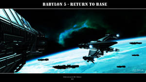 Babylon 5 - Return to Base by Mallacore