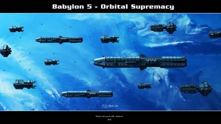 Babylon 5 - Orbital Supremacy by Mallacore