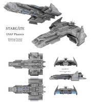 Stargate - Phoenix (Finished Modeling) by Mallacore