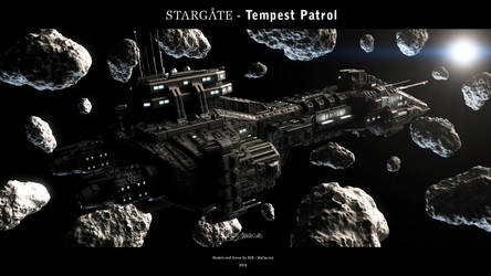 Stargate - Tempest Patrol 2018 by Mallacore