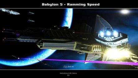 Babylon 5 - Ramming Speed by Mallacore