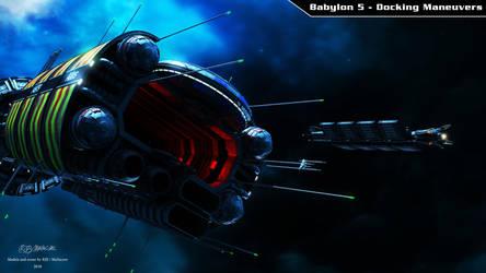 Babylon 5 - Docking Maneuvers by Mallacore