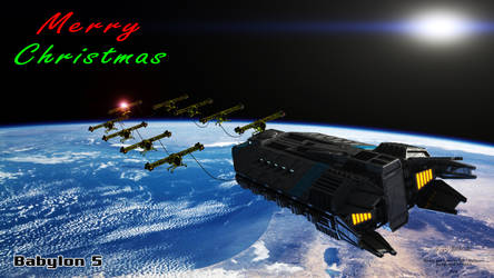 Babylon 5 - Merry Christmas by Mallacore