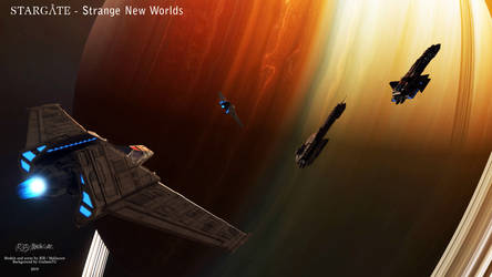 Stargate- Strange New Worlds by Mallacore