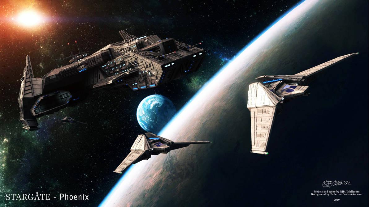 Stargate- Phoenix 2019 by Mallacore
