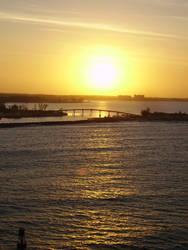 sunset by xmeganxdanielle