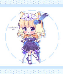 [CLOSED] Blue Belladonna Berry by Kawaii-Says-Meow
