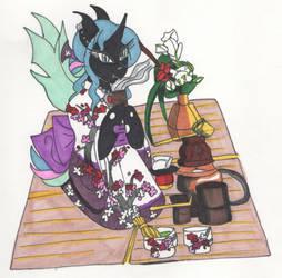 Kimono Festival: Countess Tea Ceremony by Cailadelrose