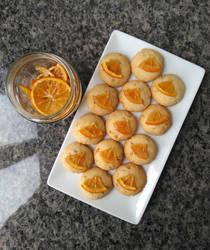 Orange cookies by flameshaft
