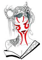 Kabuki Blossoms by Humanis