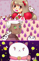 You took too long. Now your candy's gone. by MocaRami