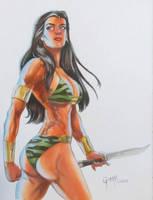 AC Comics' Tara the Jungle Girl by cbgorby