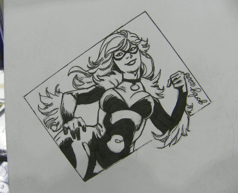 Comic Expo Sketch 4 by cbgorby