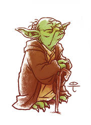 A Yoda by Ytoti