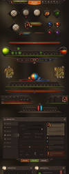 Burnblade UI by Evil-S