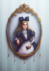 Alice's Portrait by SaiTeadvuse