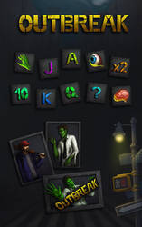 Zombie slot machine by SaiTeadvuse