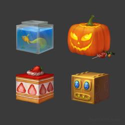 Texture Cubes by SaiTeadvuse