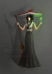 Amanita Witch Adopt  - AUCTION [OPEN] by SaiTeadvuse