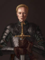 Brienne of Tarth by SaiTeadvuse