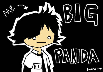 The 1 and only Panda by Bigpanda94