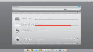 justOS Operating System Concept - Computer by Tecior