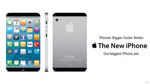 The New iPhone (iPhone 5) Concept by Tecior